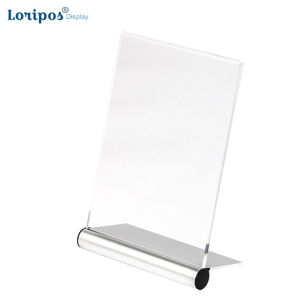 15 x A4 COUNTER POSTER ACRYLIC MENU HOLDER CLEAR PERSPEX MESSAGE DISPLAY STANDS