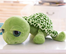 Cute Green Sea Turtles Plush Toy  Stuffed Animal Toys For Kids Children Sleeping Comfort Doll Birthday Gifts 15CM