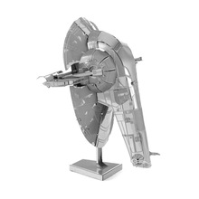 3DMetal Puzzle Model Toys Star Wars Slave 1 High Quality Metallic Steel Nano Intelligence Robot Model puzzles