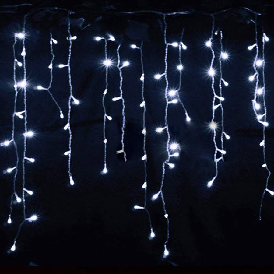 LED Curtain Icicle String Fairy Light 3-24M LED Christmas Garland Indoor Outdoor Party Garden Stage Decorative Lights 110V 220V (21)