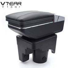 Vtear For VW jetta mk5 Golf mk5 6 armrest box central Store content box cup holder interior car-styling products accessory 05-11