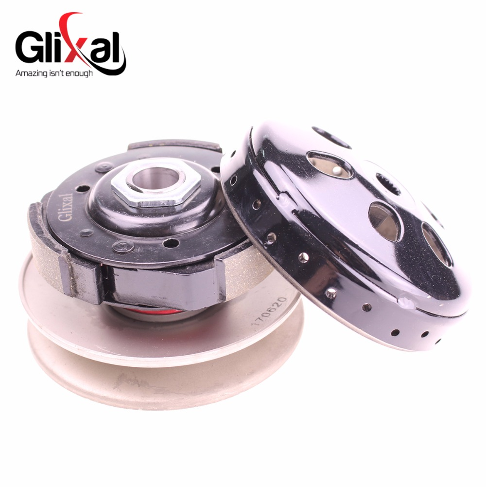 Glixal ATKS-033 729-17.7-30 Reinforced Racing CVT Drive Belt for GY6 49cc 50cc 139QMB Scooter Moped Long-Case Engine