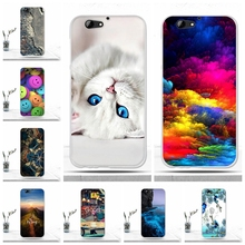For HTC One A9s Case Back Cover Soft Silicone TPU Cool Phone Cover for HTC One A9s Fundas Capas Case for HTC A9s Protective Bags(China)