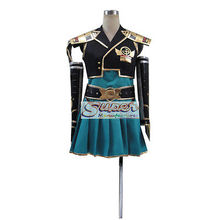 DJ DESIGN Samurai Warriors Chronicle 3 Heroine Uniform COS Clothing Cosplay Costume