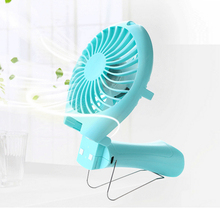 Portable Handheld Mermaid Fans Rechargeable Air Conditioner Usb Housing Fan 1500mAH Air Conditioning Foldable Ventilador Fans