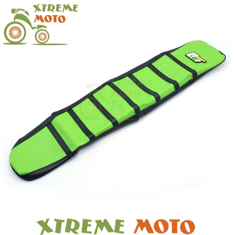 Green Gripper Soft Seat Cover For Kawasaki KX125 KX250 KX 125 250 03-09  Motorcycle Motocross Dirt Pit Bike Off Road Enduro<br>