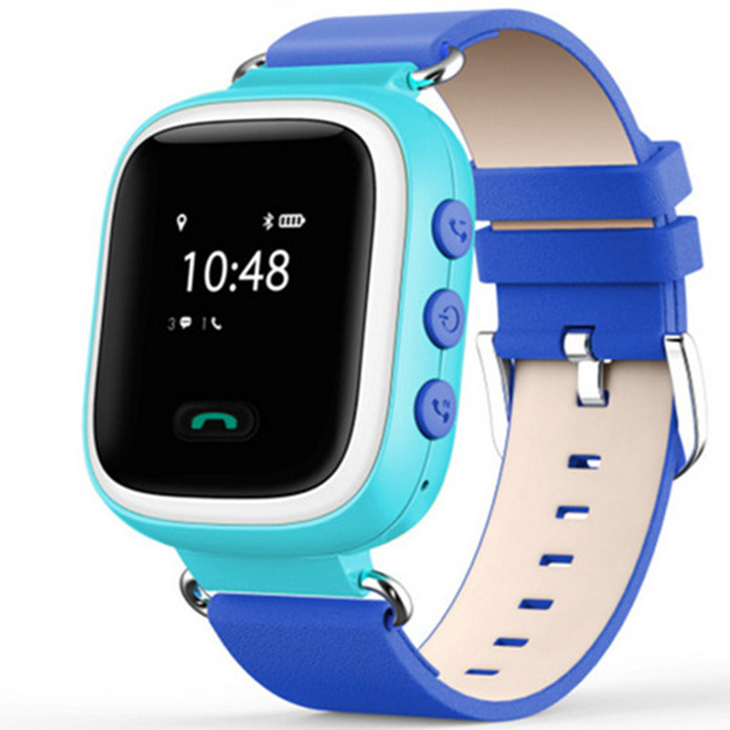 Q60 phone watch children Smartwatch cartoon mobile positioning inserted words positioning anti lost Bluetooth smart watches(China)