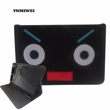For Ipad Case Funda iPad Air 2 Case Tablet PC PU Leather Smart Sleep Wake Up Folio Flip Stand Holder Monster Pattern Shockproof(China)