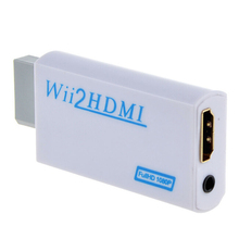 1080P HD Wii To HDMI  Upscaling Converter Adapter with 3.5mm Audio Output Wii TO HDMI Adapter