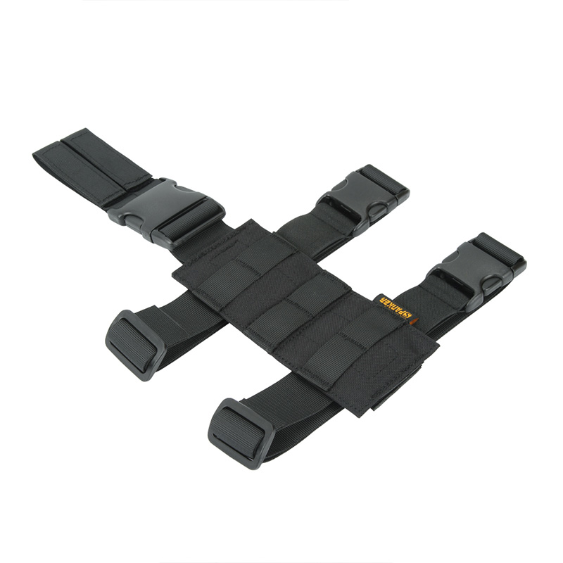 Outdoor Tactical Molle Mini-leg Hanging Plate Military Equipment Hunting Wearable  Panel Accessory
