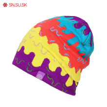2018 Winter Hat SNSUSK snowboard warm Ski hat SKULL CAP Beanie men and women gorros(China)