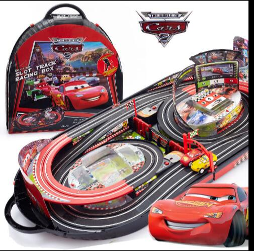 in stock hot sale electric rc track sets for kids gift toy railway tracks cars parent