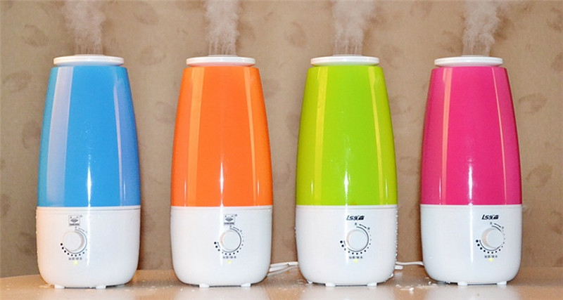 SYV01-4,free shipping,33W Tabletop 2.5L Water Bottle Mini Home Ultrasonic Humidifier Purifier,Air Freshener Diffuser<br>