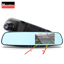 auto dvrs dual lens mirror cars dvr parking video recorder registrator dash cam full hd 1080p night vision car camera rearview