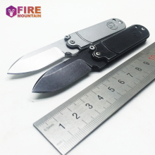 BMT Bean Mini Tactical Folding Knife 7Cr18Mov Blade Steel Handle Key Knives Outdoor Survival Knife Pocket EDC Multi Tools(China)