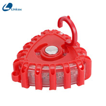 Portable 10 Model LED Flashlight 15 LED Emergency Working Red Light with Magnet Hook Light(China)