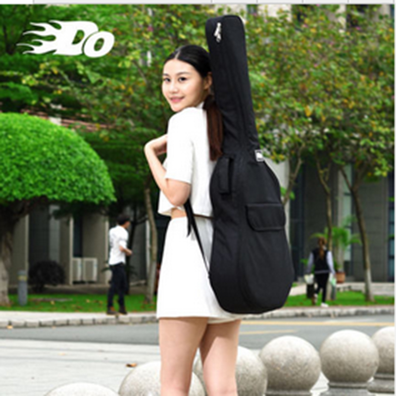 DO guitar package 40 inch 41 inch Oxford cloth thickening plus cotton personality guitar bag shoulder waterproof backpack<br>