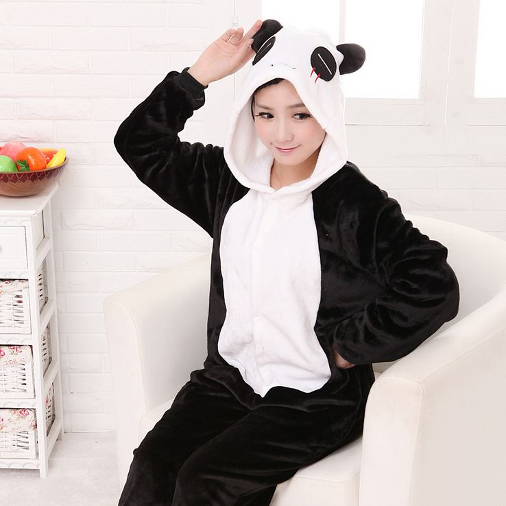 panda pijama vender por atacado panda pijama comprar por atacado da china online shopping. Black Bedroom Furniture Sets. Home Design Ideas