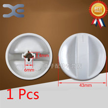 1Pcs Microwave Oven Timer Oven Knob Microwave Spare Parts Shaft Height 18mm(China)
