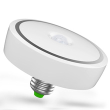 Smart PIR Infrared Motion Sensor LED Induction Bulb E27 12W Auto Switch Ceiling Light Lamp For Home Hotel(China)