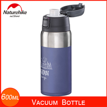 Cups Naturehike-Light 316-Stainless-Steel Water-Bottle Vacuum 600ML Insulated Travel-Mug