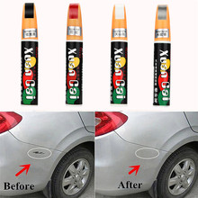 4 Colors New 12ML Auto Car Coat Paint Pen Touch Up Scratch Clear Repair Remover Remove Tool Car scratch repair pen(China)