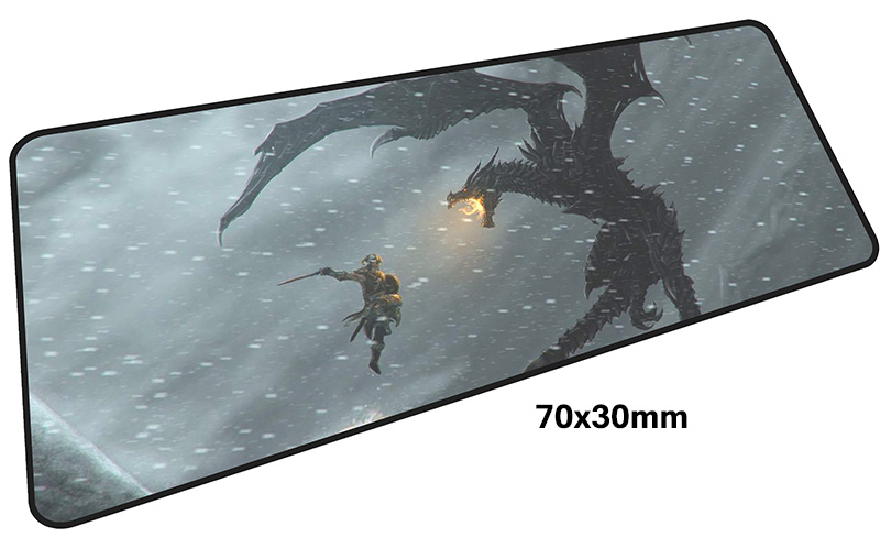 skyrim mouse pad gamer 700x300mm notbook mouse mat large gaming mousepad large Birthday present pad mouse PC desk padmouse 7