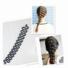 NEW ly    Hair Styling Tools Useful Centipede Braid Device Women Hair Accessories Black
