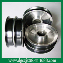 coating  ceramic  Aluminum wire guide wheel for wire drawing application