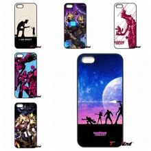 Marvel Comics Guardians of the Galaxy Five Phone Case For iPhone 4 4S 5 5C SE 6 6S 7 Plus Samsung Galaxy Grand Core Prime Alpha
