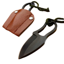 Portable Survival Knife For Outdoor Camping Mini EDC Multi Function Self-Defence Knifes with Leather Cover Multitools Hand Tools