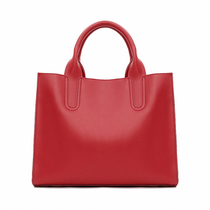 100% Genuine Leather Womens Handbags Simple Ladies Messenger Bags 7 Colors Shoulder Bags LY16<br>