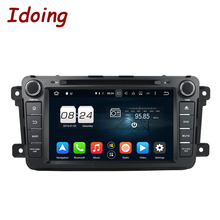 "Idoing 2Din Android6.0 For Mazda CX9 Car DVD Player 8""GPS Navigation 2G RAM 32G ROM Phone Link Bluetooth RDS Car Radio Fast Boot"