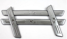 Accessories ! Stainless Steel Inner & Outer Door Sill Scuff Plate 8 Pcs For Kia Optima K5 2011 2012 2013