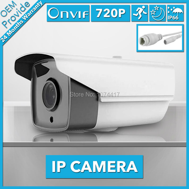 FL-W-IP2100H-E 1280*720P 1.0MP Bullet IP Camera IR Outdoor Security ONVIF 2.0 IP66 Night Vision P2P CCTV Camera Megapixel Lens<br>