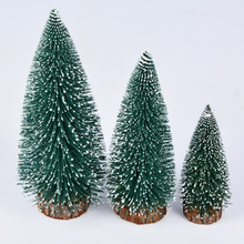 Mini Christmas Tree Festival Home Office Party Ornaments Xmas Decoration Gift Supplies Hot Sale P20(China)