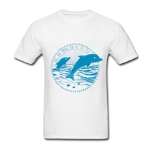 Message From Dolphins T Shirts Boy Custom  Custom Man T-shirts XXXL