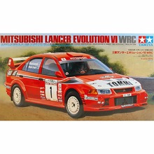 OHS Tamiya 24220 1/24 Lancer Evolution VI WRC Car Model Building Kits