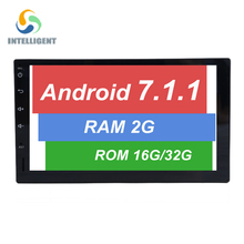 Android 7.1 CAR GPS For NISSAN toyota 2 din universal radio HD screen RAM 2G ROM 32G stereo multimedia navigation audio car pc