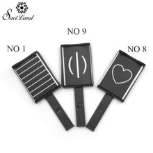 Saviland 1pcs magnet sticker for only Chameleon cat eye nail gel Manicure Tool 3D Effect New Nail Tool 9 Styles Pick 1(China)