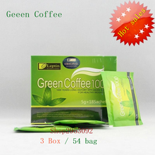 3 Box = 54bags, Weight Loss Green Coffee 1000, For weight loss Fat Burning Slimming Tea, reduce cellulite's diet Tea