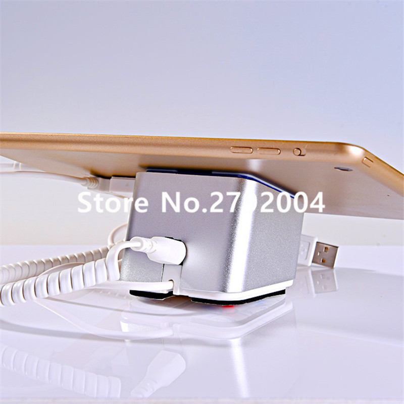 Ipad charging alarm c-safe  mobile phone anti-theft device display lock experience holder<br>