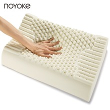 NOYOKE 60*40*7-9 cm Thailand Natural Latex Pillow Cervical Orthopedics Soft Bed Bedding Natural Latex Pillow(China)
