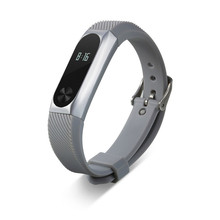 Buy New 2017 Xiaomi Mi Band 2 Bracelet Replacement Wristband Band Strap + Metal Case Cover drop 0601 for $4.32 in AliExpress store