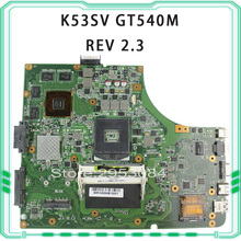 K53SV motherboard for ASUS K53SV k53S X53SV A53S Mainboard N12P-GS-A1 REV 2.3 HM65 1G GT540M mainboard(China)