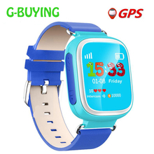 2017 Kid GPS Smart Watch Wristwatch SOS Call Location  Device Tracker for Kid Safe Anti Lost Monitor Baby Gift Q80 PK Q50 Q60