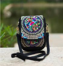 Buy 2016 New Women's Ethnic Embroidery bag Vintage Embroidered canvas shoulder messenger bags Handmade Multicolor small coins bags for $5.86 in AliExpress store