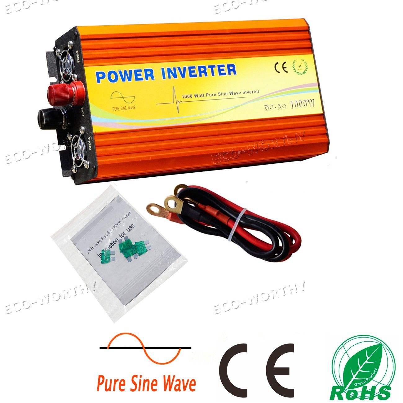 Ultra-high Performance 1KW Pure Sine Wave Off Grid Inverter 24V DC to 220V AC(China (Mainland))