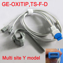 Compatible GE-OXITIP,TS-F-D 1m/3ft pulse probe multi site y model spo2 sensor