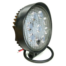 4 Inch 27W LED Work Light for Indicators Motorcycle Driving Offroad Boat Car Tractor Truck 4x4 SUV ATV Flood/Spot Beam 12V-24V